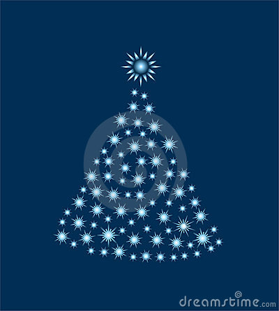 Árvore de Natal só