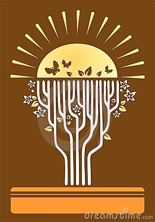 Árvore de uma vida