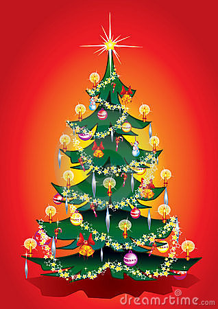 Árvore morna do Xmas.