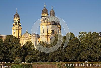 """Theatinerkirche"" church in Munich, Germany"