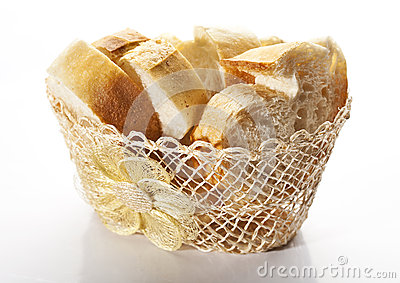 ​Bread in basket