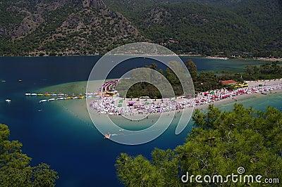 Ölüdeniz beach, Turkey