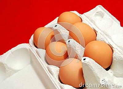 ägg frigör område
