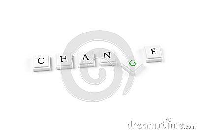 ändring