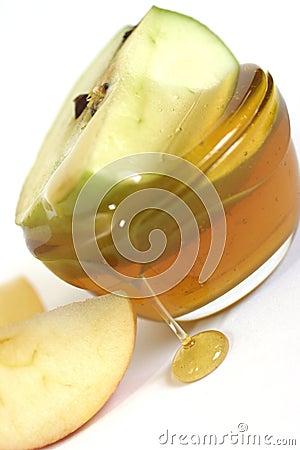 Äpfel und Honig