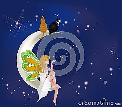 蹬月球 卡通