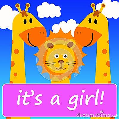 È una ragazza!