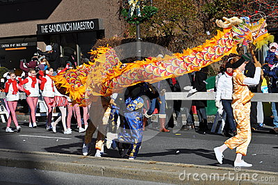 20ème Spectacular annuel de défilé de thanksgiving d UBS, dans Stamford, le Connecticut Image stock éditorial