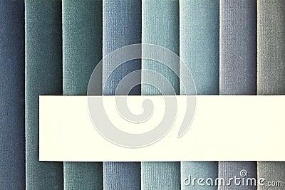 Échantillons de tissu