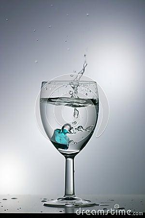 Éclaboussure de l eau
