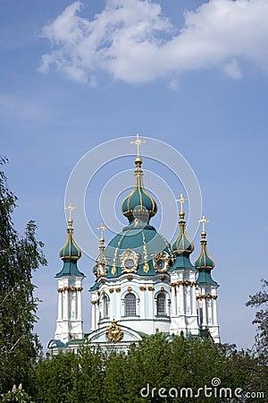 L église de St Andrew dans Kyev
