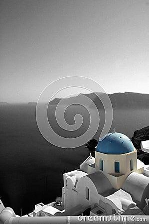 Église et mer