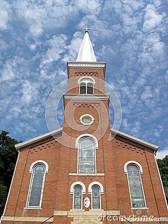 Église méthodiste de brique