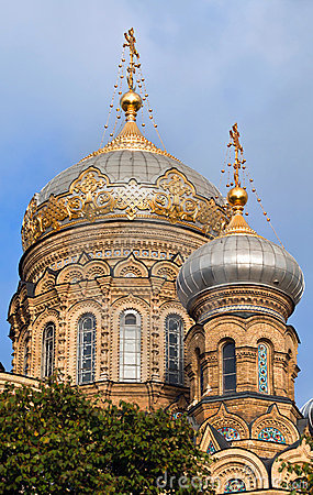 Église orthodoxe à St Petersburg