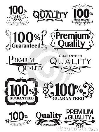 Éléments calligraphiques de conception