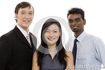 Équipe diverse 2 d affaires