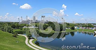 Équipements et parc olympiques, Munich clips vidéos