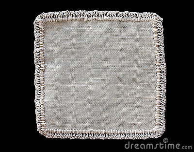 Étiquette de tissu