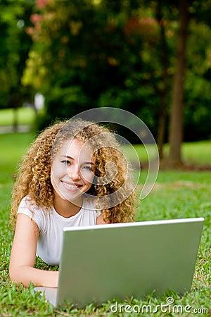 Étudiant à l extérieur