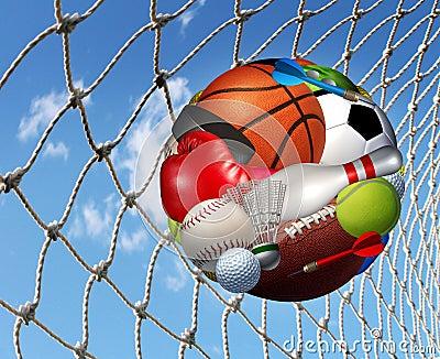 Éxito de la aptitud de los deportes