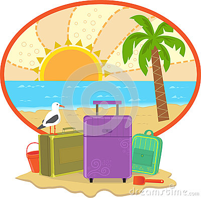 Ícone das férias
