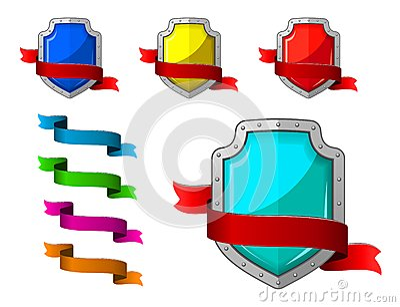 Ícones da segurança ajustados