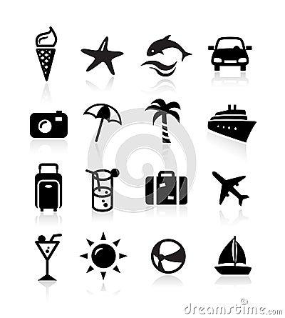 Ícones do verão