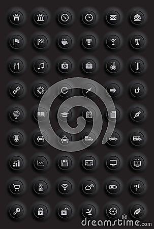 Ícones e pictograma ajustados