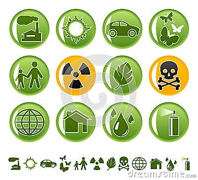 Ícones ecológicos