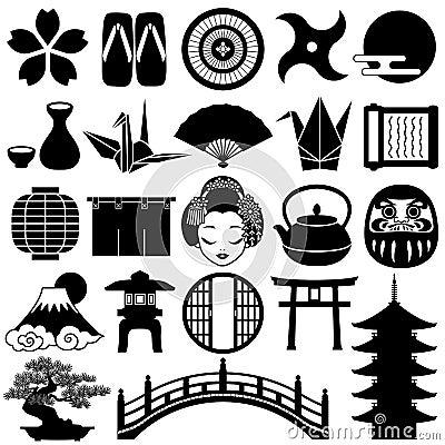 Ícones japoneses