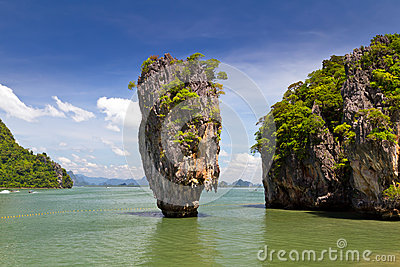Île De James Bond En Thaïlande Images stock - Image: 27856034