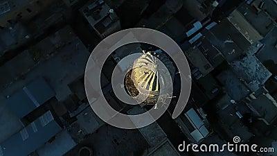 Τοπ άποψη μιναρών Mardin φιλμ μικρού μήκους