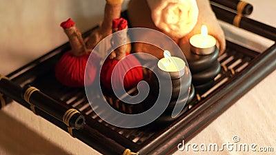 Аксессуары массажа спа и тела Decotarion от горящих свечей, камней для массажа тела и трав в салоне спа armoring акции видеоматериалы