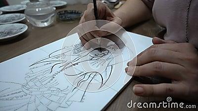 Картина керамической плитки акции видеоматериалы