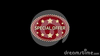 Специальное предложение Оживленная овальная бирка звезды дополнительный иллюстратор формы eps самана включает сбор винограда ярлы бесплатная иллюстрация