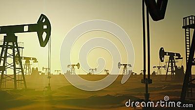 Óleo global da gasolina da fábrica da ecologia que bombeia no petróleo do campo da fase da fabricação