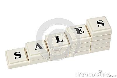 ökande försäljningar