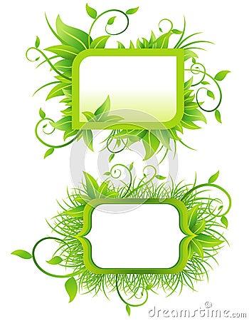 Ökologische Fahnen