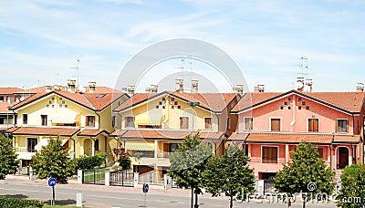 Nicas casas italianas fotos de stock imagem 8694723 for Case italiane