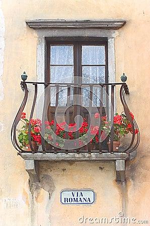 Über Romana - italienischen Balkon