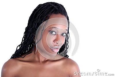 美国黑人的妇女年轻人
