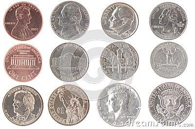 美国钱币硬币收藏大全 美国25分硬币图片大全图片