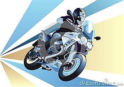 卡通 漫画 摩托 摩托车