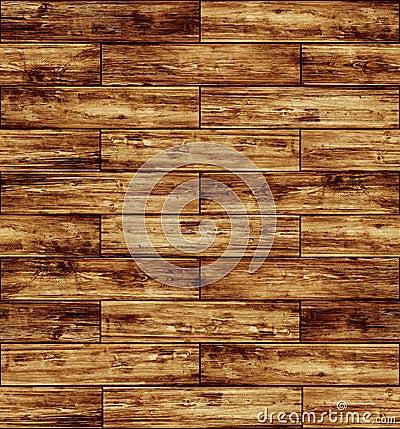 木条地板无缝的纹理木头