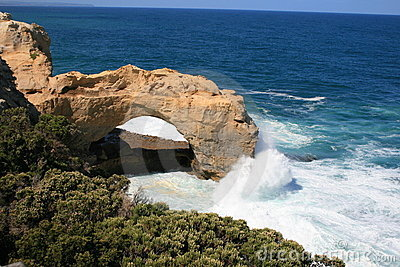 łękowata Australia wielka oceanu droga Victoria