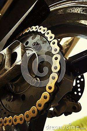 łańcuszkowy motobike