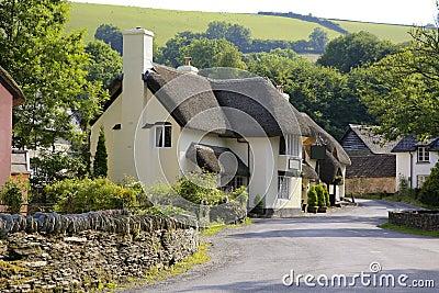 Ładny Exmoor dom