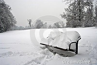 ławka biel
