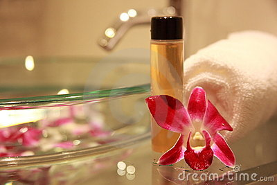 łazienki orchidea