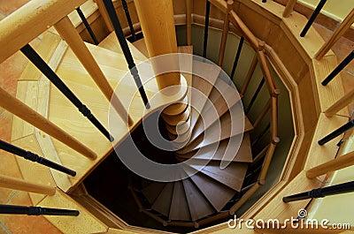 Ślimakowaty schody